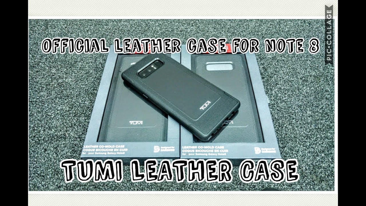 finest selection f7333 feb3d TUMI leather case for samsung galaxy note 8