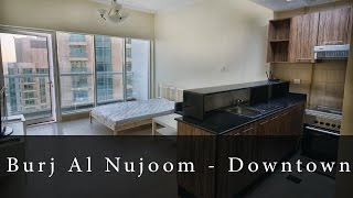 Burj Al Nujoom (Studio Apartment) - Downtown