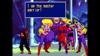 X-Men: Children of the Atom (Arcade) Playthrough as Akuma
