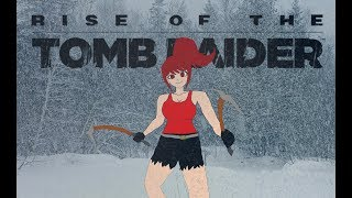 I'M EATTING A MUFFIN Rise of the Tomb Raider episode 2