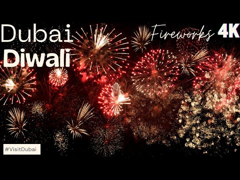 Diwali Fireworks 2019 – Dubai Festival City | Hathi Garden Laser Show | Diwali Celebrations