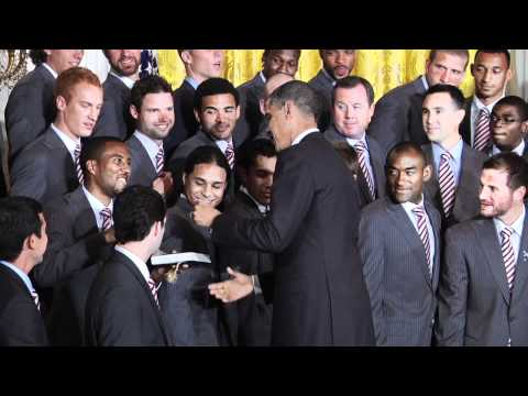 Obama honors Rapids at the White House