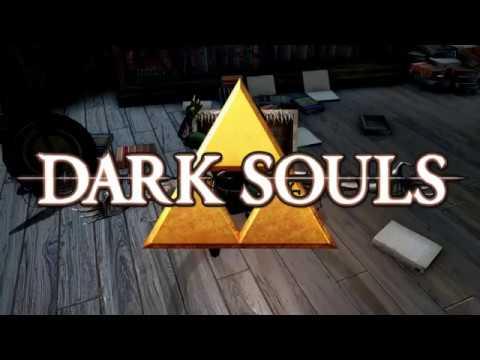 Посмотрите, как Линк из The Legend of Zelda выживает в жестоком мире Dark Souls — видео