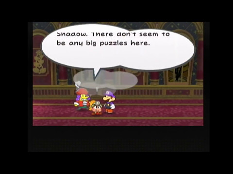Paper Mario The Thousand Year Door: Palace Skip on English