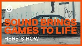 Bringing Hitman to Life Through Sound