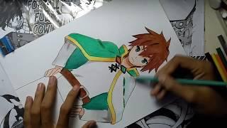Speed Drawing Satou Kazuma (Konosubarashi Sekai Ni Syukufuku wo!)