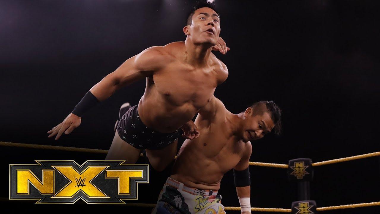 Kushida vs. Atlas – Interim NXT Cruiserweight Title Tournament Group A Match: WWE NXT, May 6, 2020