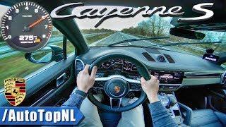 NEW! 2018 Porsche Cayenne S | AUTOBAHN POV | ACCELERATION & TOP SPEED by AutoTopNL