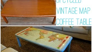 Diy Epoxied Coffee Table