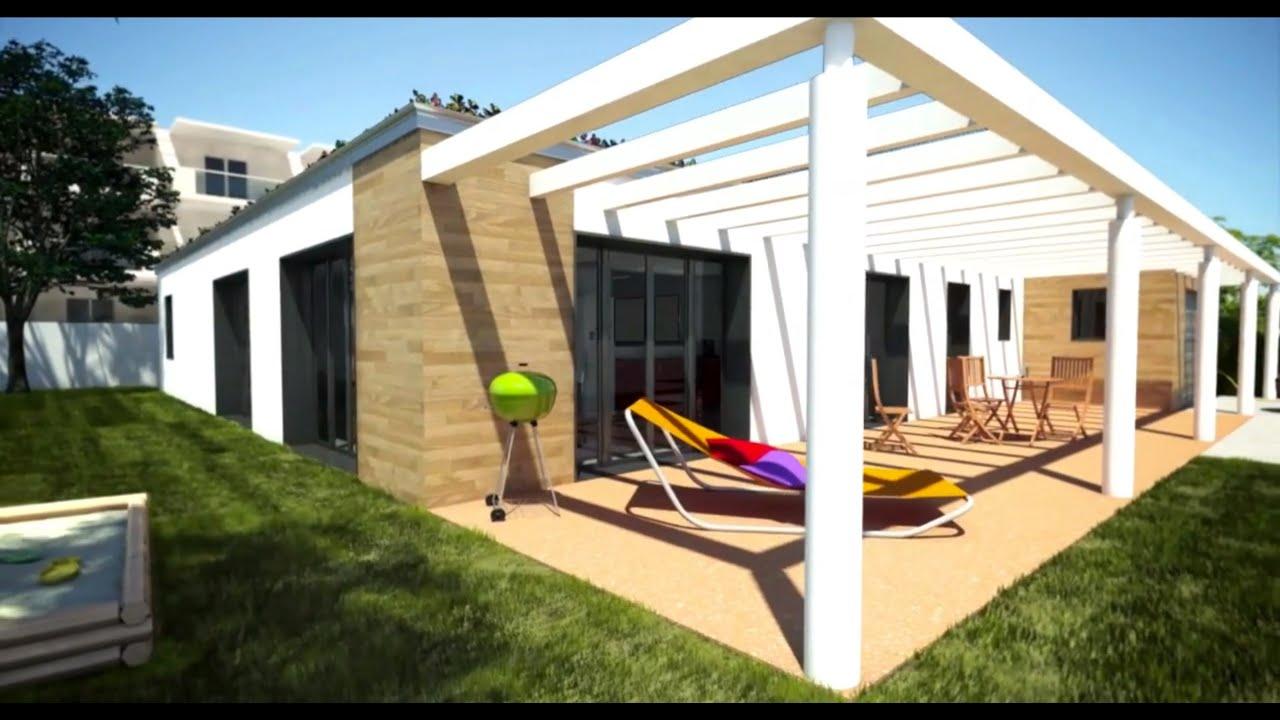 Maison ABCD+ Cécile Robin & Lafarge - YouTube