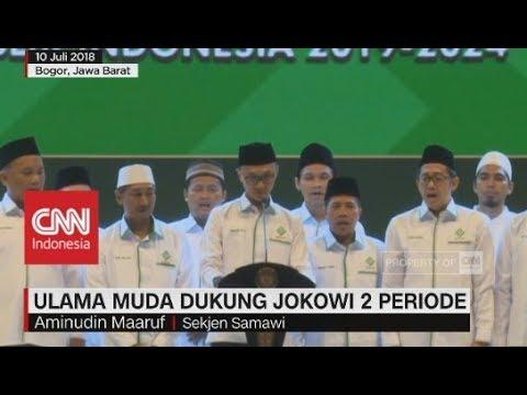 Ulama Muda Dukung Jokowi Untuk 2 Periode