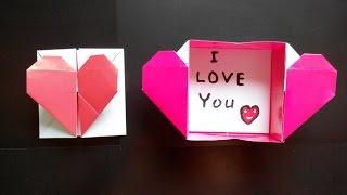 Коробочка с сердечком оригами, Capsule Heart Origami (Francis Ow)(Designed by: Francis Ow Коробочка с сердечком оригами, Capsule Heart Origami (Francis Ow) Бумага - цветная, односторонняя, размером..., 2015-06-04T17:47:18.000Z)
