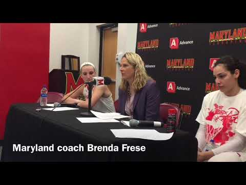 Maryland coach Brenda Frese details her team's 99-69 win over Ohio State