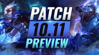 NEW PATCH PREVIEW: Upcoming Changes List for Patch 10.11 - League of Legends Season 10