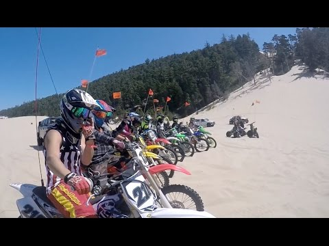 Dirt Bike Pirates  []  Dunefest Freeride 2016  Part 2 - DBP Moto Crew