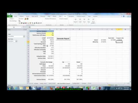 Advanced Bond Analytics Using Andrew Kalotay Associates Calculations and TPG.mp4