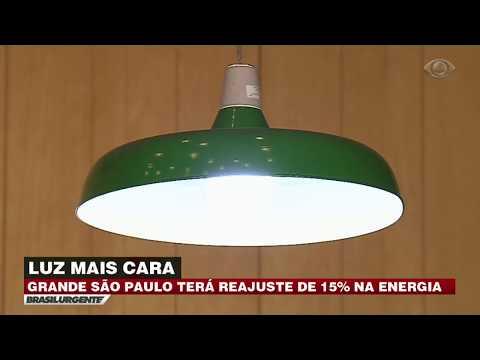Grande SP terá reajuste de 15% na energia elétrica