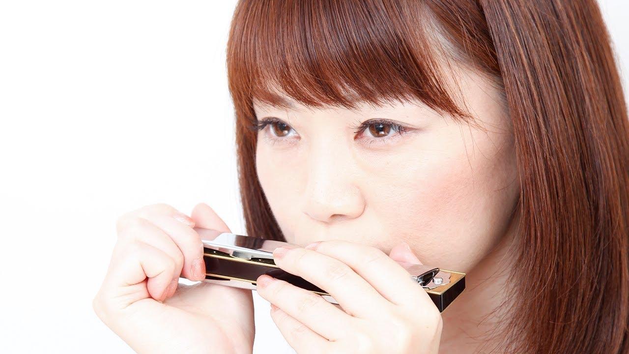 atossinternational 教則DVD「複音ハーモニカ入門 柳川優子」Digest -