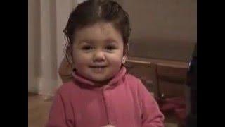 Cute Kid Tries To Say Vacuum