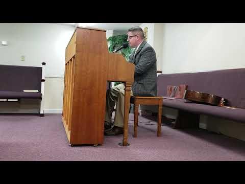 Bro. Daniel Waters singing Mercy Walked In