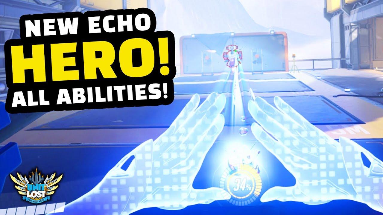 Download Overwatch - NEW Hero Echo Gameplay! - ALL Abilities Breakdown