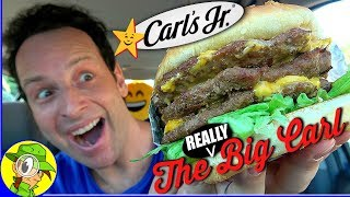 It's a meaty cheesy upgrade for popular burger on the carl's jr.® menu with really big carl® and definitely packin'! so does more meat cheese ...