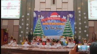 Kids Ballet Christmas Dance Performance 2018 | Penampilan Tarian Balet Natal Anak TK (Kindergarten)