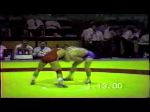 1990 Senior Greco World Championships: ? kg Unknown vs. Unknown