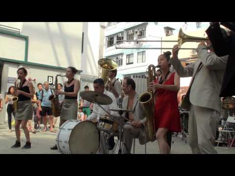 Jo Bithume Company Brass Band @ Le French May 2015