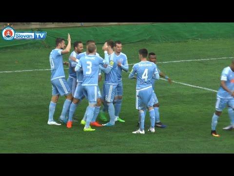 MFK Zemplín Michalovce – ŠK Slovan Bratislava 1:2 Semifinále Slovnaft Cupu