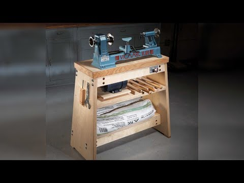 Alan Lacer's Ultimate Lathe Stand with David Lyell