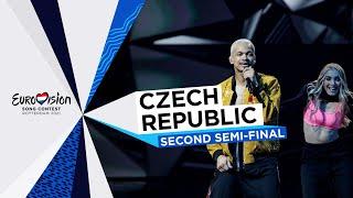 Benny Cristo - omaga - LIVE - Czech Republic 🇨🇿 - Second Semi-Final - Eurovision 2021