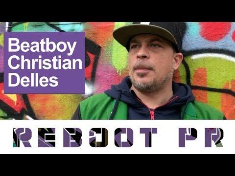 BLOGPOST: PR-Hackathon: Graffiti-Künstler Christian Delles erfindet sich immer wieder neu
