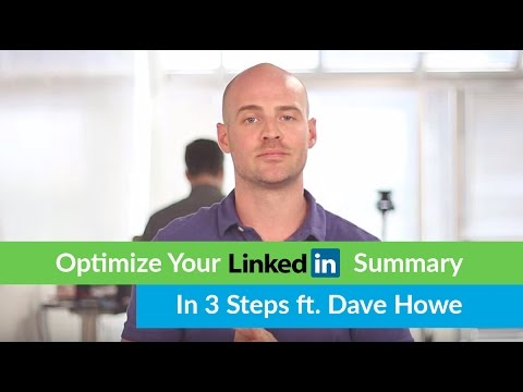 How To Optimize Your LinkedIn Summary