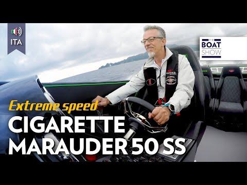 [ITA] 105 NODI !!! CIGARETTE MARAUDER 50 SS - Prova - The Boat Show