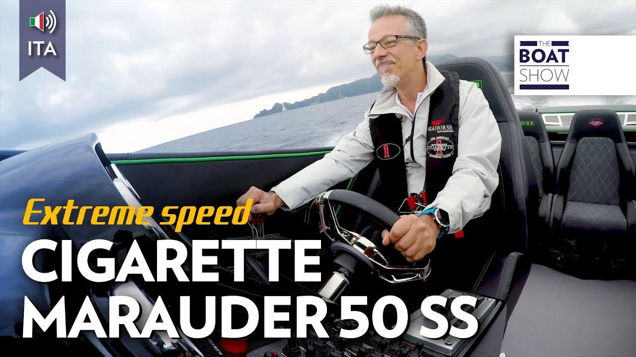 Download [ITA] 105 NODI !!! CIGARETTE MARAUDER 50 SS - Prova - The Boat Show