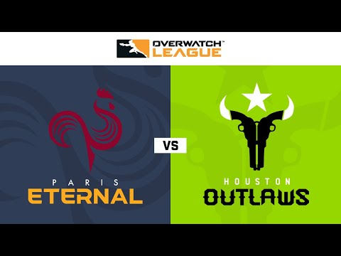 Houston Outlaws vs Paris Eternal vod