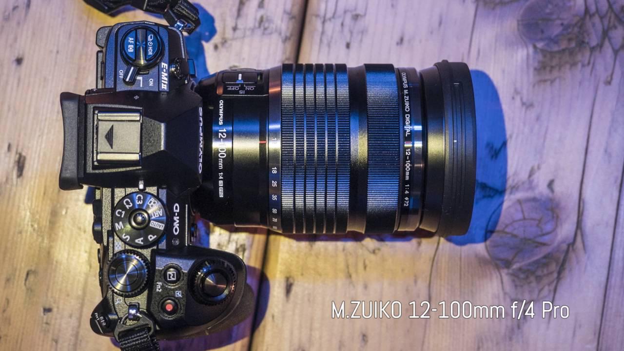 Olympus M Zuiko 12 100mm F 4 Pro 25mm F 1 2 Pro 30mm F 3 5 Macro Hands On At Photokina 2016 Youtube