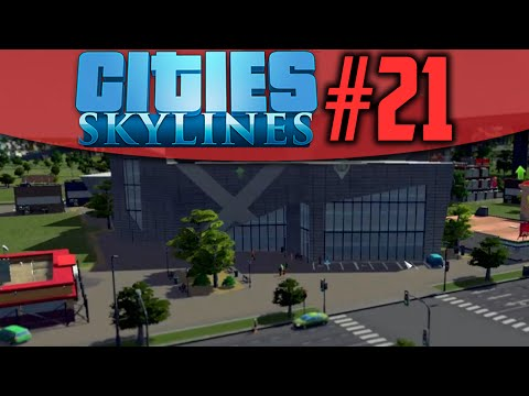 MODERN ART MUSEUM! - Cities Skylines S2 #21
