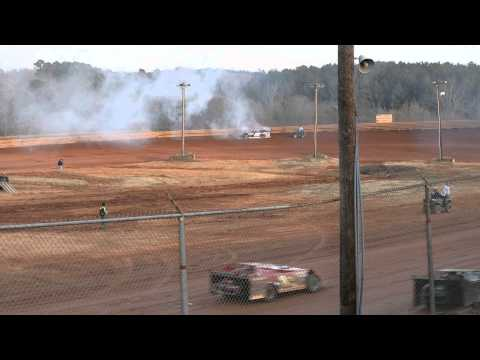 David McCoy wins south eastern limited late models at Travelers rest speedway 11/22/14