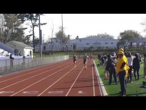 New Brunswick 800m boys finish