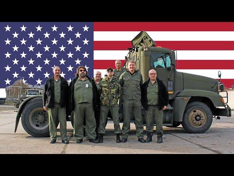 Besuch in Kaiserslautern | Deutsche Berufskraftfahrer bei der US-Army