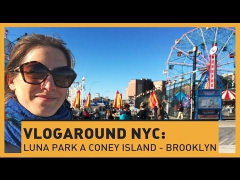 VLOGAROUND NYC: Luna Park a Coney Island - Brooklyn