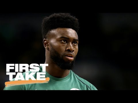 Stephen A. Smith says Celtics' Jaylen Brown 'is coming' this NBA season | First Take | ESPN