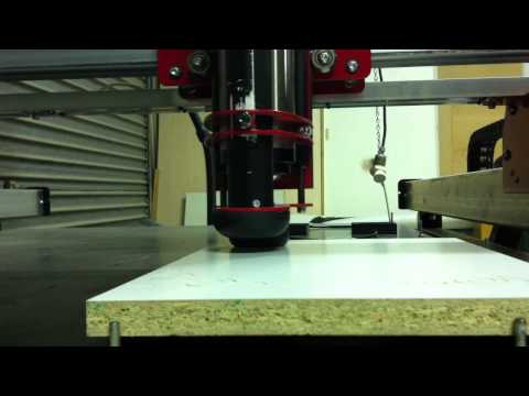 Diy home built 3 axis cnc router youtube for Home built router