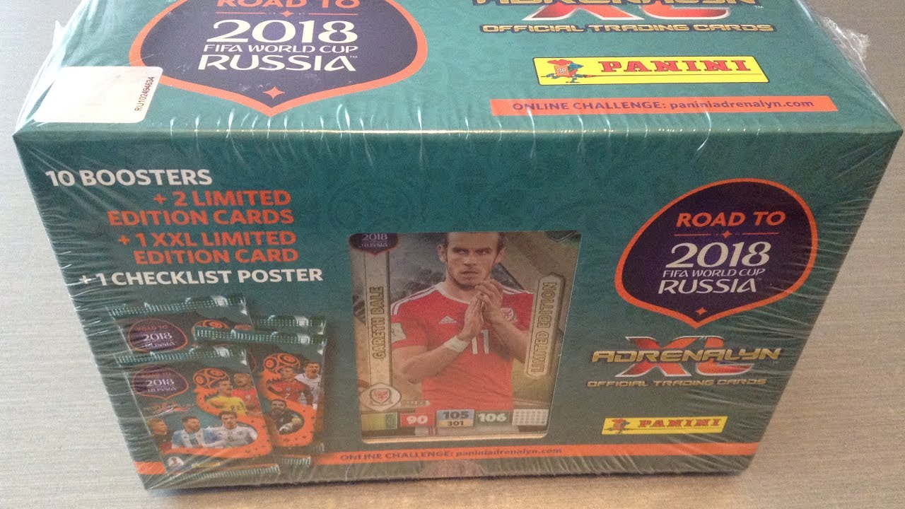 792c6d1d3 PANINI AXL ROAD TO RUSSIA 2018 ***SWEDISH GIFT BOX/3 LIMITED EDITION CARDS ***