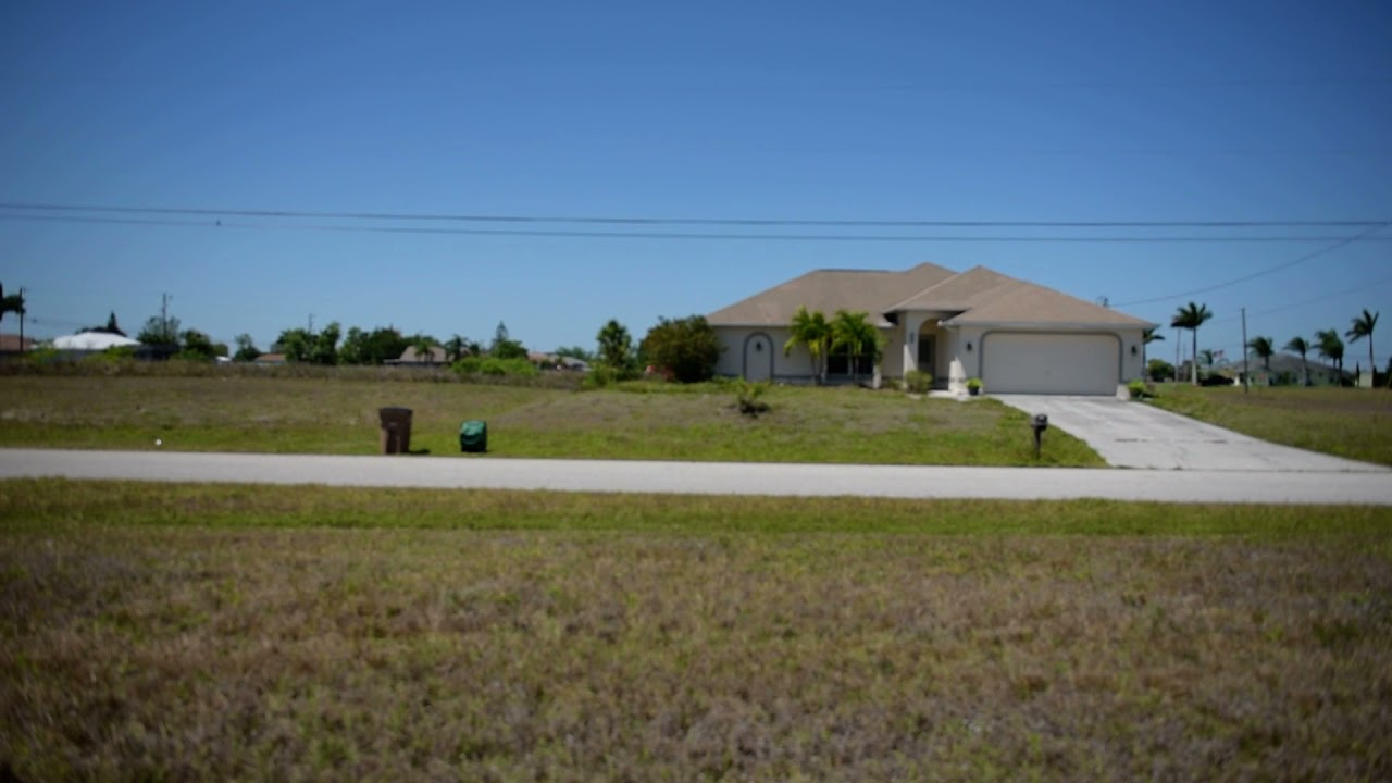 SOLD - 0.24 Acres – With Power and Paved Road! In Cape Coral, Lee County FL