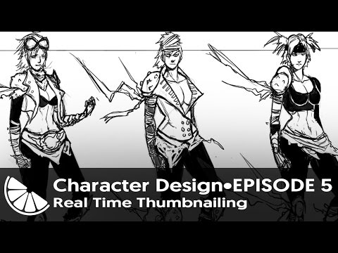 Character Design Episode 5~Real Time Thumbnailing