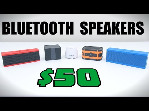 Top 5 Bluetooth Speakers Under $50 - 2015