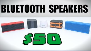 Top 5 Bluetooth Speakers Under $50 - 2015